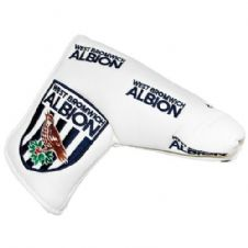Official West Bromwich Albion Golf Blade Putter Cover & Ball Marker